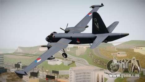 Lockheed P2V-7 Neptune MLD pour GTA San Andreas laissé vue