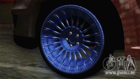 Dacia Logan Most Wanted Edition v1 pour GTA San Andreas sur la vue arrière gauche