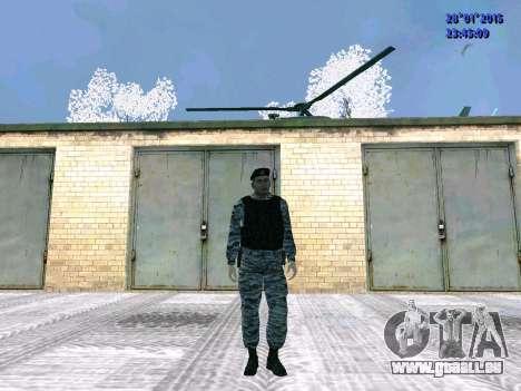 Die OMON-Kämpfer für GTA San Andreas zweiten Screenshot