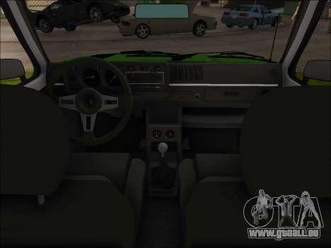 Volkswagen Golf GTD Mk1 pour GTA San Andreas vue arrière