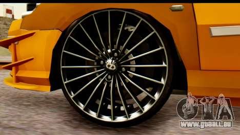 Peugeot 407 Sport Taxi pour GTA San Andreas vue de droite