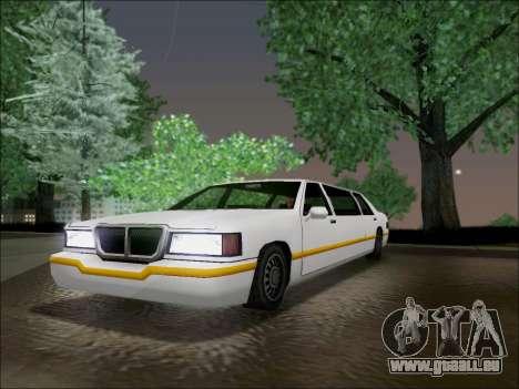 Elegant Limousine für GTA San Andreas