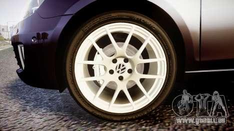Volkswagen Golf Mk6 GTI rims2 für GTA 4 Rückansicht