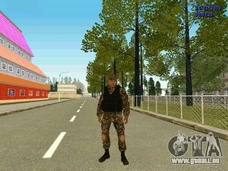 Pfeile Miliz DND für GTA San Andreas