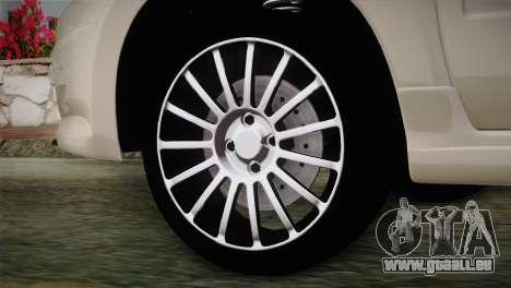 Lada Granta Sport pour GTA San Andreas sur la vue arrière gauche