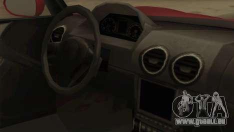GTA 5 Coil Voltic v2 pour GTA San Andreas vue de droite