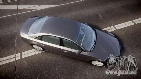Audi A8 L 4.2 FSI quattro pour GTA 4 est un droit