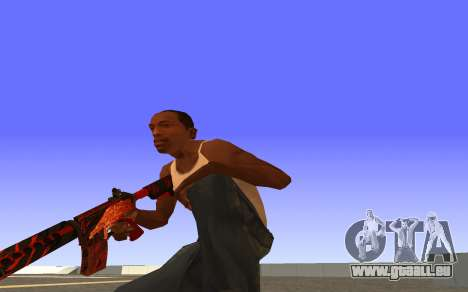 M4A4 Вой CS:GO für GTA San Andreas dritten Screenshot