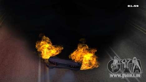 Burning Car pour GTA San Andreas cinquième écran