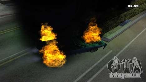 Burning Car pour GTA San Andreas sixième écran
