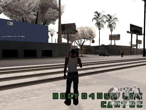 Colormod v5 pour GTA San Andreas deuxième écran