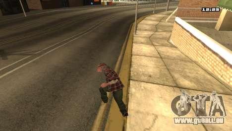 Gemischte Kampfkünste für GTA San Andreas fünften Screenshot