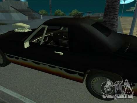 Diablo Étalon из de GTA 3 pour GTA San Andreas vue de droite