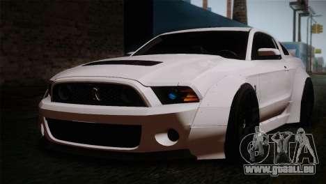Ford Shelby GT500 RocketBunny SVT Wheels pour GTA San Andreas