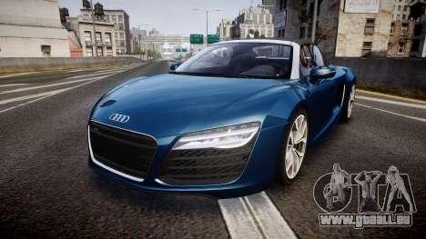 Audi R8 Spyder 2014 [EPM] pour GTA 4
