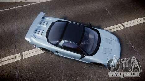 Honda NSX 1998 [EPM] pour GTA 4 est un droit