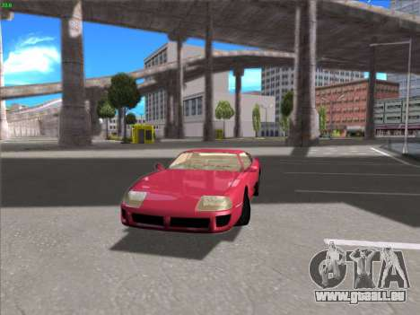 High Definition Graphics pour GTA San Andreas deuxième écran