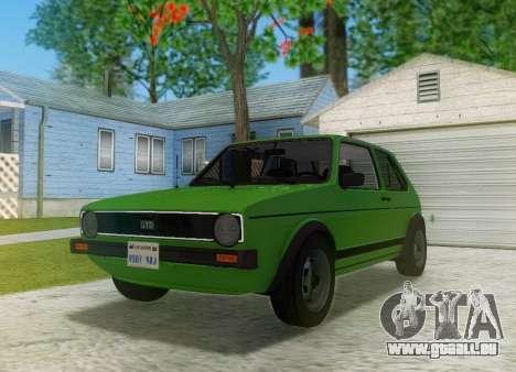 Volkswagen Golf GTD Mk1 pour GTA San Andreas