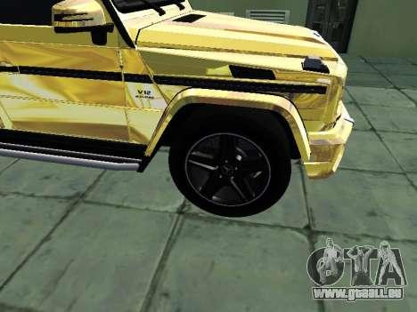 Mercedes-Benz G65 AMG für GTA San Andreas rechten Ansicht