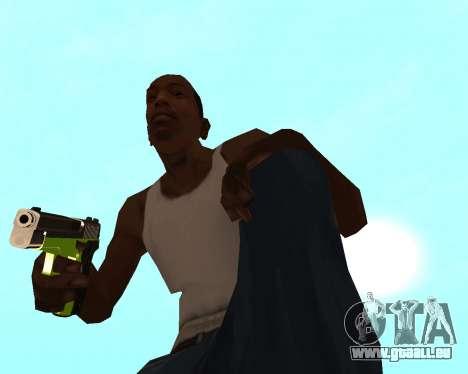 Sharks Weapon Pack pour GTA San Andreas huitième écran