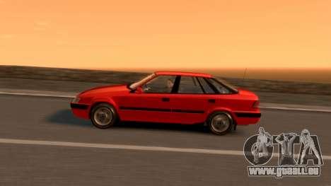 Daewoo Espero 2.0 CD 1996 für GTA 4 Innen