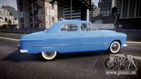 Ford Custom Fordor 1949 v2.1 für GTA 4 linke Ansicht