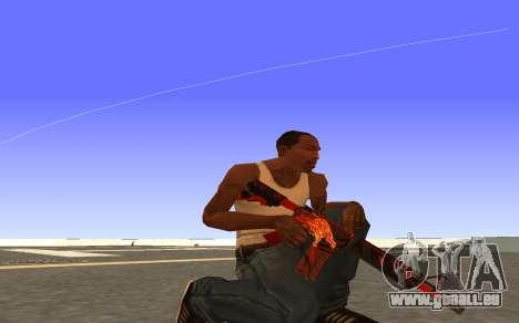 M4A4 Вой CS:GO pour GTA San Andreas