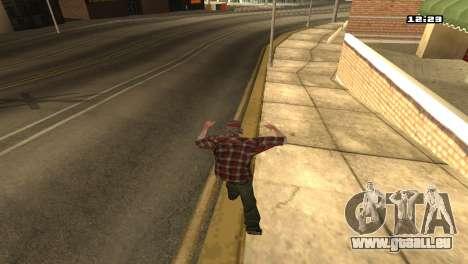 Gemischte Kampfkünste für GTA San Andreas her Screenshot