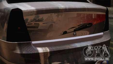 Dacia Logan Most Wanted Edition v3 pour GTA San Andreas vue arrière