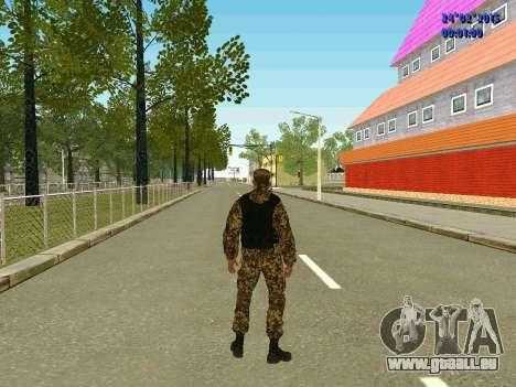 Pfeile Miliz DND für GTA San Andreas fünften Screenshot