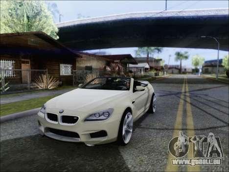 BMW M6 Cabriolet 2012 pour GTA San Andreas