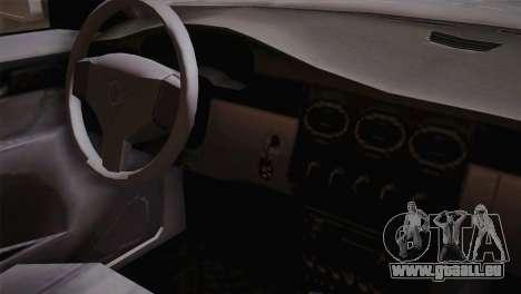 MP3 Fathom Lemanja LX SA Mobile für GTA San Andreas rechten Ansicht