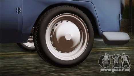 Volkswagen T1 Short pour GTA San Andreas sur la vue arrière gauche