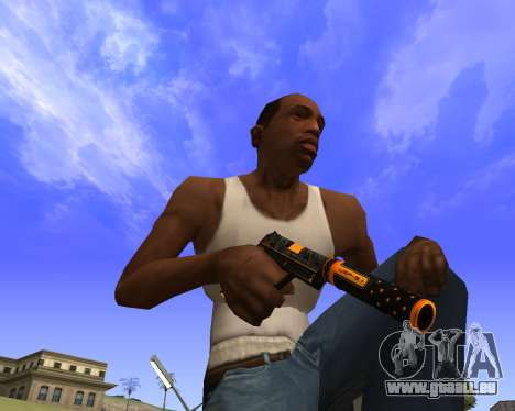 Skins Weapon pack CS:GO pour GTA San Andreas