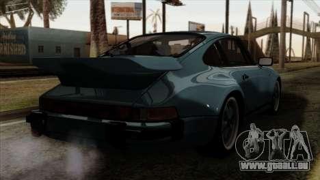 Porsche 911 Turbo 3.3 Coupe 930 1981 für GTA San Andreas linke Ansicht