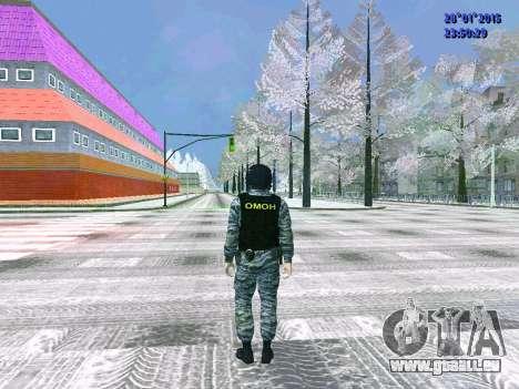 Die OMON-Kämpfer für GTA San Andreas dritten Screenshot