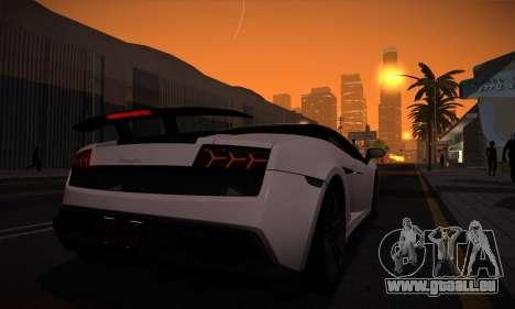 ENB par Dmitriy30rus pour la faiblesse du PC pour GTA San Andreas quatrième écran
