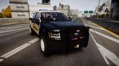 Ford F150 2010 Liberty County Sheriff [ELS] für GTA 4