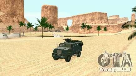 Blindés De L'Ours pour GTA San Andreas