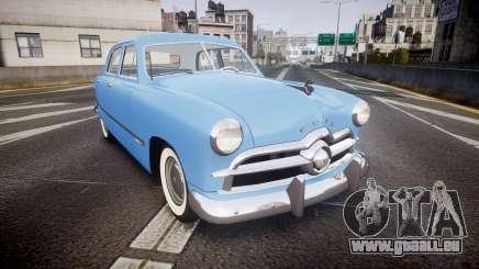 Ford Custom Fordor 1949 v2.1 pour GTA 4