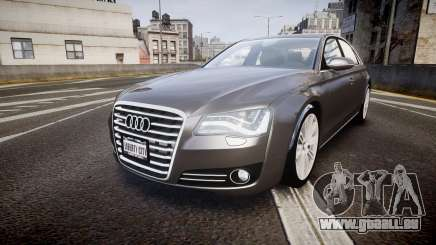 Audi A8 L 4.2 FSI quattro pour GTA 4