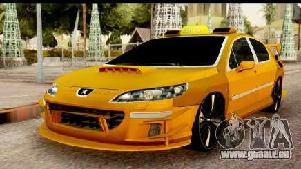 Peugeot 407 Sport Taxi für GTA San Andreas