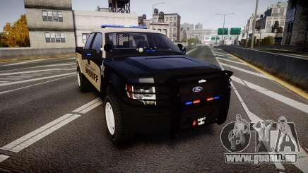 Ford F150 2010 Liberty County Sheriff [ELS] pour GTA 4