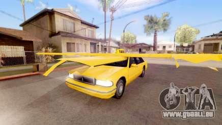Geflügelte taxi für GTA San Andreas