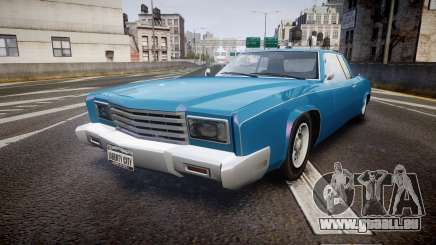 Albany Buccaneer San Andreas Style pour GTA 4