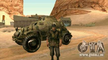 SdKfz.222 für GTA San Andreas