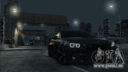 BMW M5 F10 2014 pour GTA 4