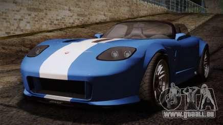 GTA 5 Invetero Coquette v2 für GTA San Andreas