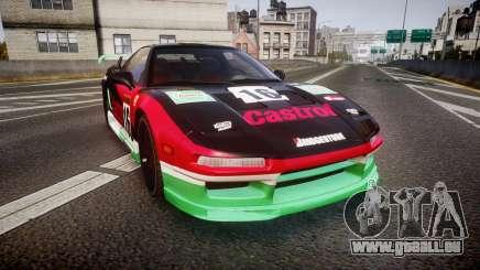 Honda NSX 1998 [EPM] castrol für GTA 4