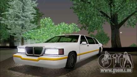 Elegant Limousine pour GTA San Andreas